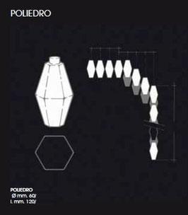 Ricambio in vetro soffiato per Poliedri di Venini