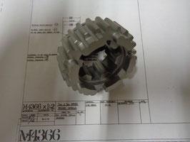 M4366x1 Pegged wheel