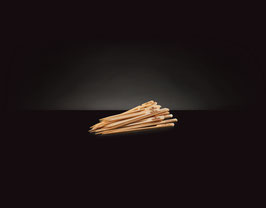 Napoleon Holz-Spieße aus Bambus kurz (48 Stück)