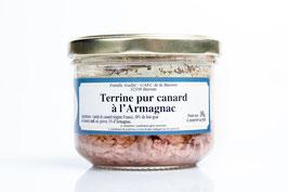 Terrine pur Canard à l'Armagnac 180g