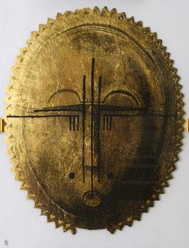Maske gold1