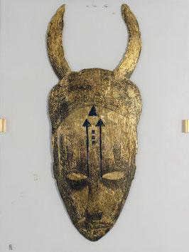 Maske gold2
