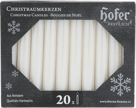"""Christmas Candles, non drip, metallic """"mother-of-pearl"""" (Perlmutt)"""