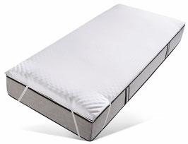 Topper »Microaktiv 2,5«, Jekatex, 2,5 cm hoch, Raumgewicht: 50, Viscoschaum. In verschiedenen Größen erhältlich