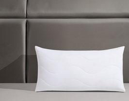 Nackenstützkissen, Visko 40 cm x 80 cm , Jekatex, Füllung: Viskoschaumstäbchen, Bezug: Polyester, (1-tlg), Optimale Stützkraft für Kopf- & Nackenbereich