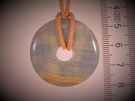 Aragonit blau (Donut 35mm)