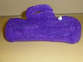 Handtasche lila (Strickfilz)