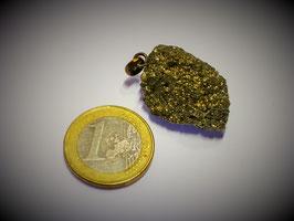 Pyrit (Grüppchen) Anhänger Silberöse