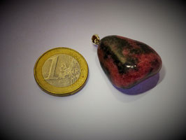 Rhodonit (Anhänger Silberöse)