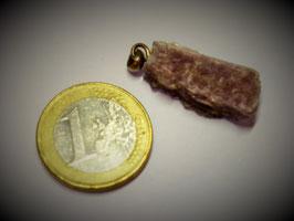 Lepidolith (Anhänger Silberöse)
