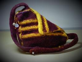 Handtasche (Strickfilz)