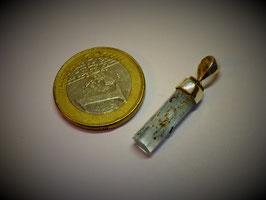 Aquamarin (Anhänger Silberkappe)