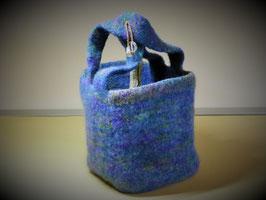 Handtasche offen (Strickfilz