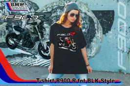 T-SHIRT  F900 R FNT BLK