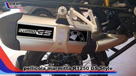 Kit Adesivo Marmitta hexaust  per GS 1250  Adventure LC