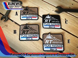 Toppa Patch GS style con vs nome
