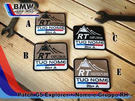 Toppa Patch GS style con vs nome