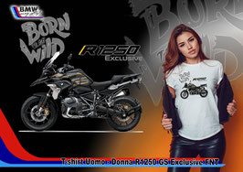 T-SHIRT NEW R 1250 GS EXCLUSIVE FNT STYLE