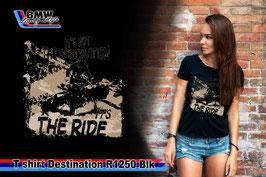 T-SHIRT DESTINATION  R1250 BLK
