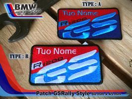 Toppa Patch GSRally style con vs nome