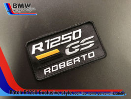 Toppa Patch R1250 GS EXCLUSIVE Style personalizzabile