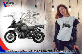 T-SHIRT R 1250 ADVENTURE EXCLUSIVE  FNT  STYLE
