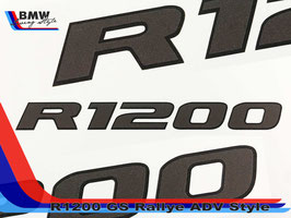 Scritta R1200 Rallye EDITION Adventure