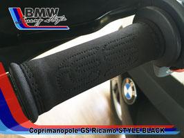 Copri manopole GS Ricamato STYLE BLACK