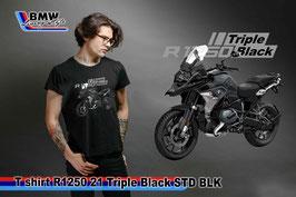T-SHIRT R1250 GS 2021 TRPLE BLACK BLK