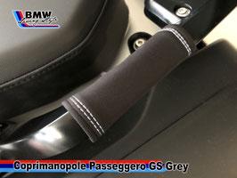 Grips Passeggero GREY per R1200GS  e R1250 GS Standard