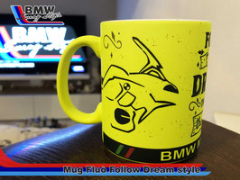 Tazza MUG FLUO' Follow Dream