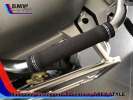 Grips Passeggero per GS ADVENTURE GREY STYLE