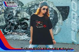 T-SHIRT  F900 XR FNT BLK