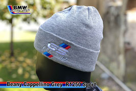 Cappellino Beanie Grey GS R1250 Style