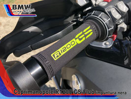 Copri manopole R1200 GS Fluò impunture Black