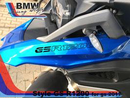 Scritta GSR1200  per GS 2017 LC