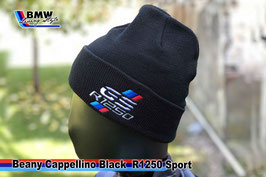 Cappellino Beanie BLACK GS R1250 Style