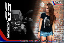T-SHIRT F850 GS LIGHT FNT