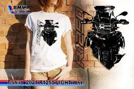 T-SHIRT 2021 R1250 LIGHT WHT