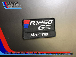 Toppa Patch R1250 GS Style personalizzabile