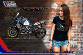 T-SHIRT NEW R 1250 ADVENTURE FNT  STYLE