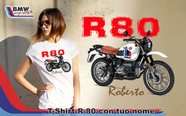 T-SHIRT R80 STYLE FNT con nome