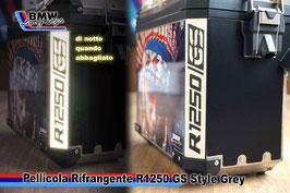 Pellicole Angolari Rifrangenti R1250GS style Grey Light