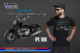 T-SHIRT R 18 Style BLK