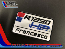 Toppa Patch R1250 HP Style personalizzabile