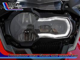 Pellicola protezione graffi Clear Ghost  gruppo Ottico LED serie  R1200 GS LC e serie R1250GS  dal 2014 ad oggi