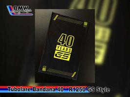 Bandana Tubolare 40° R1250 GS Style multi funzione