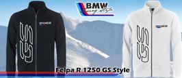 Felpa Full-Zip GS R1250 Style Uomo