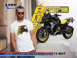 T-SHIRT R1250 GS 2021 OPTION 719 WHT
