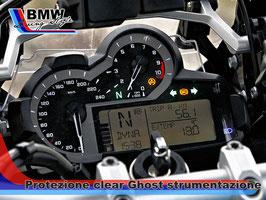 Pellicola protezione graffi Clear Ghost  strumentazione R1200 GS  dal 2014